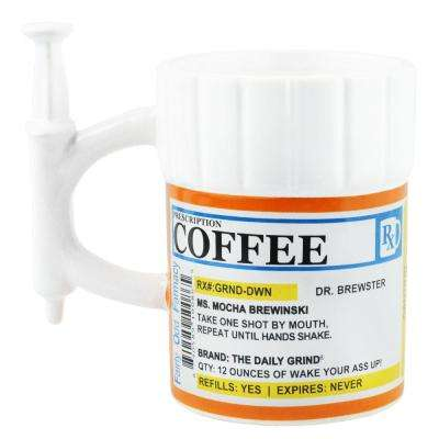 12 oz. Prescription Syringe Coffee Mug - 24PK