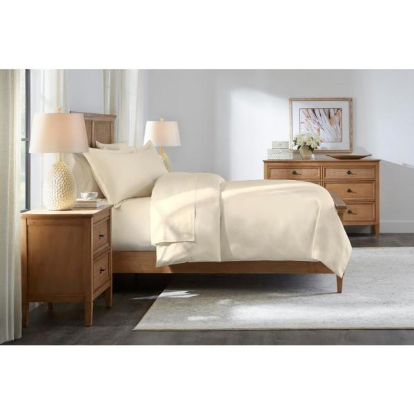 Home Decorators Collection 500 Thread Count Egyptian Cotton Sateen 3-Piece