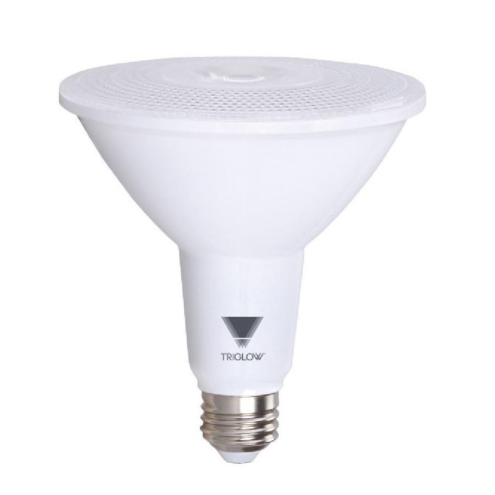 TriGlow 100-Watt Equivalent PAR38 Dimmable 1,050-Lumen LED Light Bulb Daylight