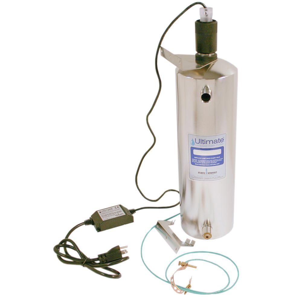 Atlantic Ultraviolet Corporation 4 GPM Stainless Steel Germicidal Ultraviolet Water Purifier
