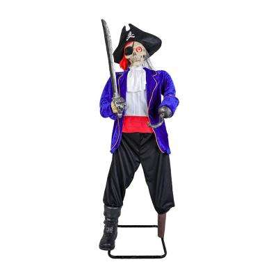 63 in. Animated Pirate