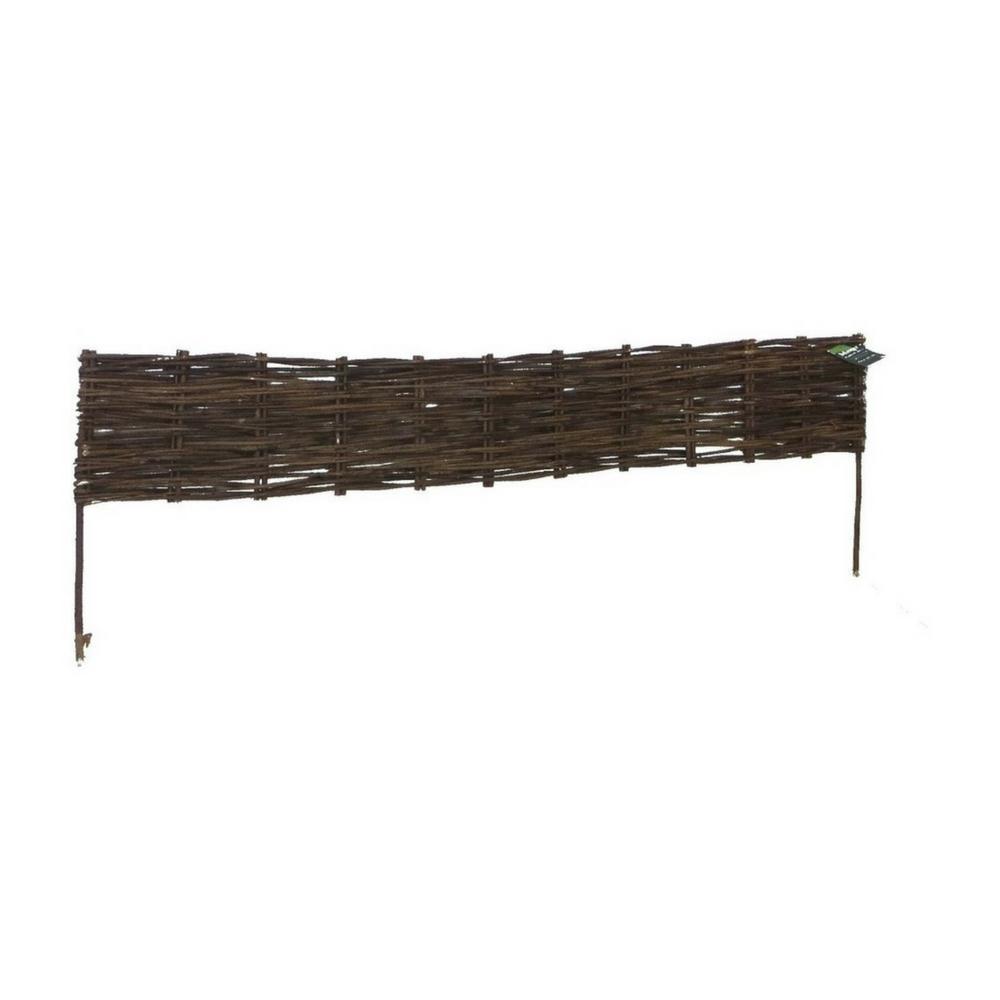 MGP 4 ft. Woven Willow Edging