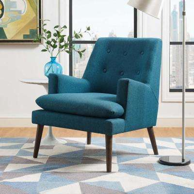 Enjoyable Club Chair Blue Fabric Accent Chairs Chairs The Ocoug Best Dining Table And Chair Ideas Images Ocougorg