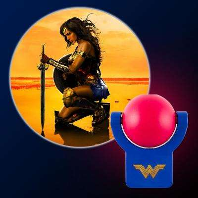 Wonder Woman Projectable LED Night Light