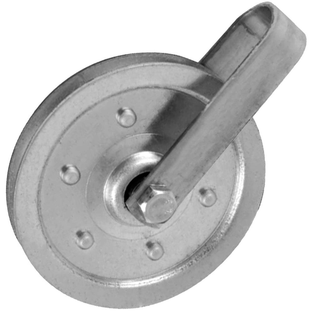 IDEAL Security 4 in. Pulley with Fork and Bolt-SK7114 - The Home Depot