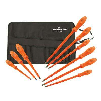 9-Piece 1000-Volt Insulated Screwdriver Set