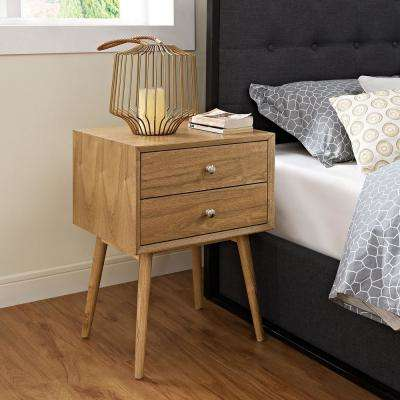 Dispatch 2-Drawer Natural Nightstand
