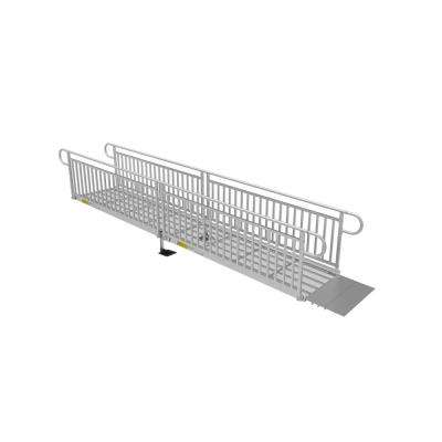 16 ft. Expanded Metal Ramp Kit with Vertical Pickets
