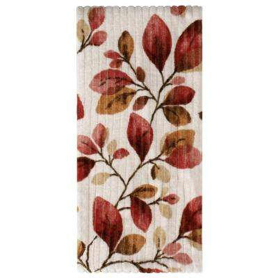 100% Cotton Faithful Birds Hand Towel in Ruby