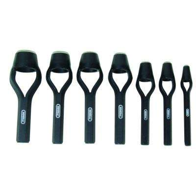 Hollow Steel Arch Punch Set (7-Piece)