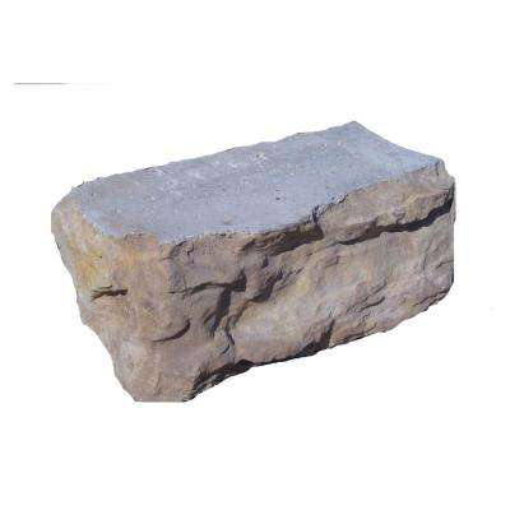 Pantheon 6 in. x 16 in. x 8 in. Concrete Limestone Corner Block