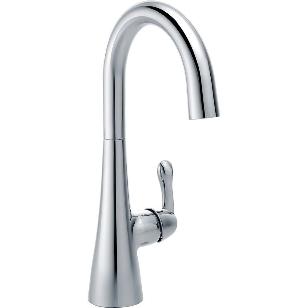 Delta Traditional Single-Handle Bar Faucet in Chrome-1953LF - The ...