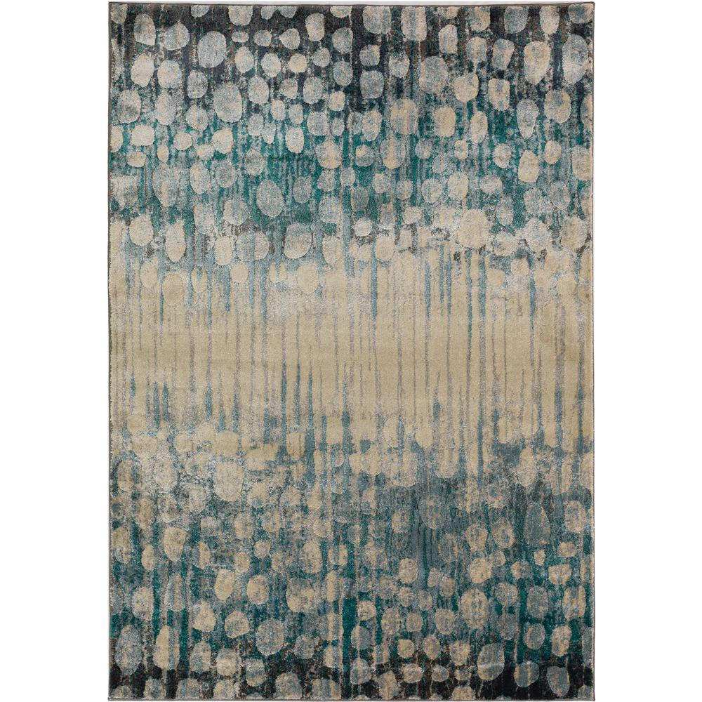 Rugs Serene 5 Abstract Patches Pewter