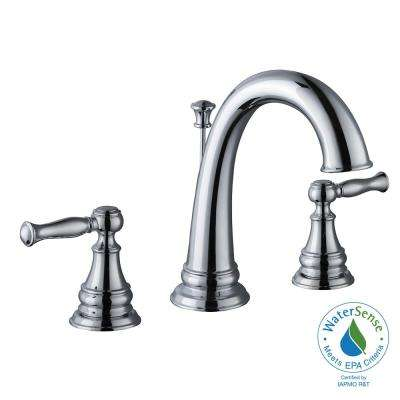Fairway 8 in. Widespread 2-Handle High-Arc Bathroom Faucet in Chrome