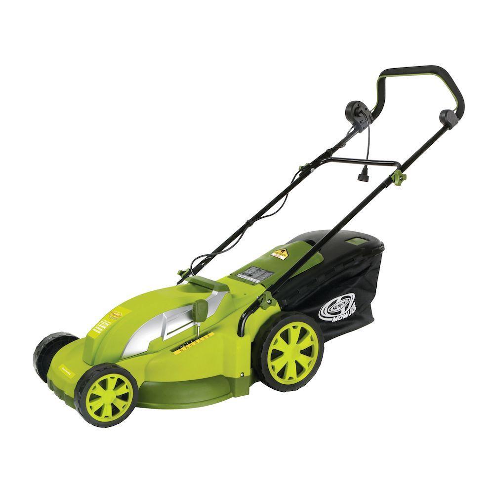black amp decker lawn mower. mow joe 17 in. 13-amp corded electric push mower black amp decker lawn