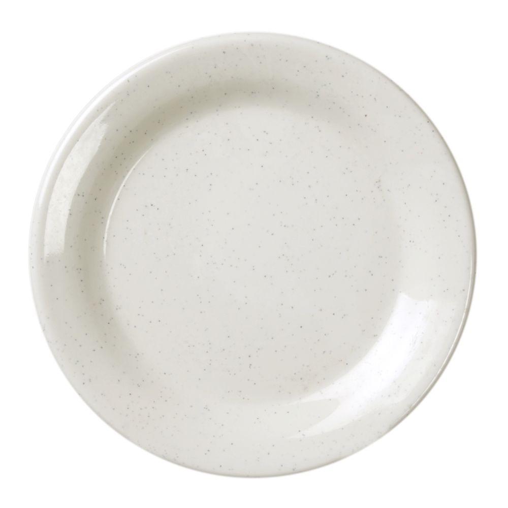 Restaurant Essentials Sandova 7-1/2 in. Dinner Plate (12-Piece)