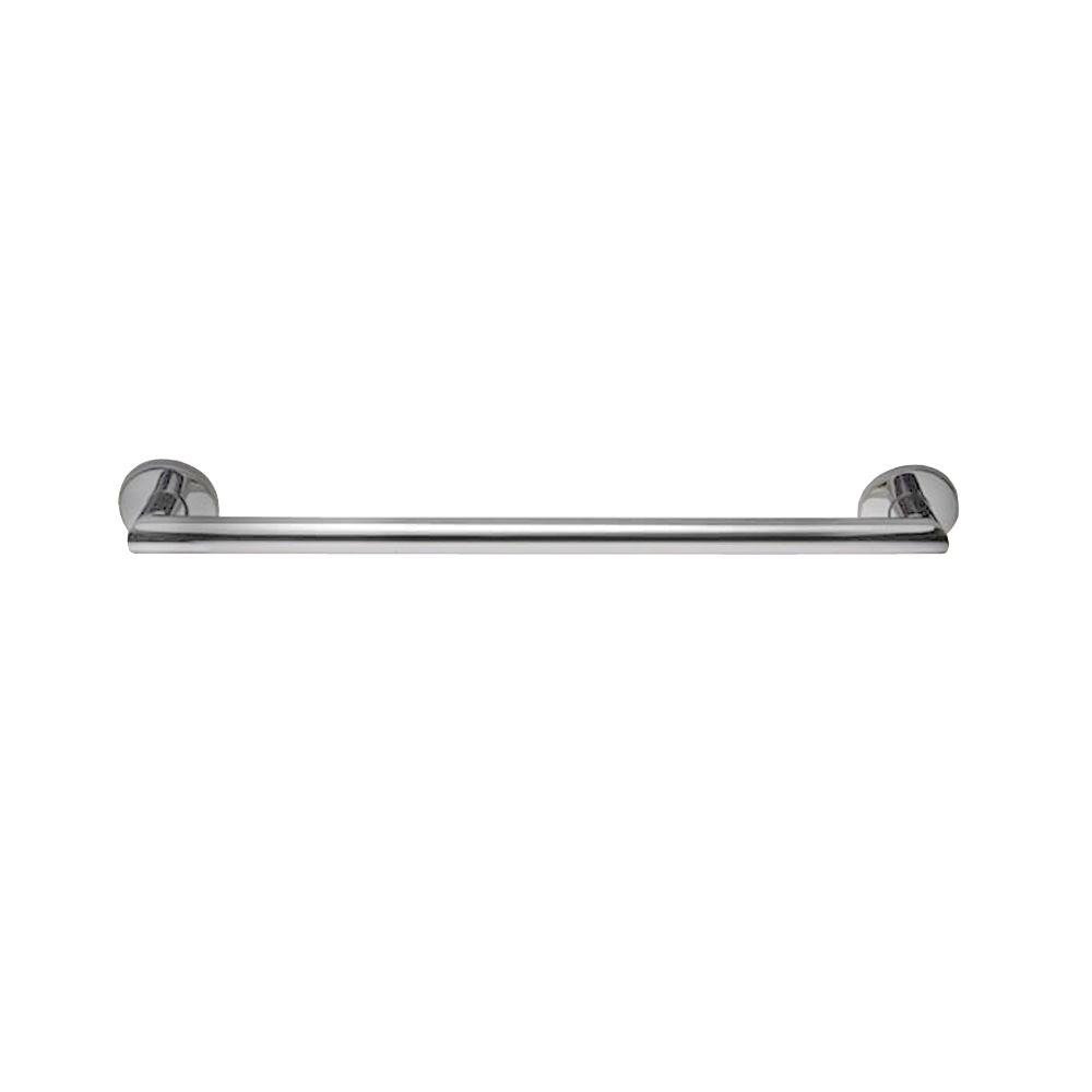 E-Z Grab Simplistic Fashion Straight Concealed Screw 20 in. x 1-1/4 in. Grab Bar in Polished Chrome