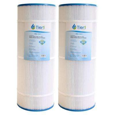 120 sq. ft. Pool and Spa Filter Cartridge Replacement for C1200, Star-Clear Plus, FC-1293, PA120, C-8412 (2-Pack)