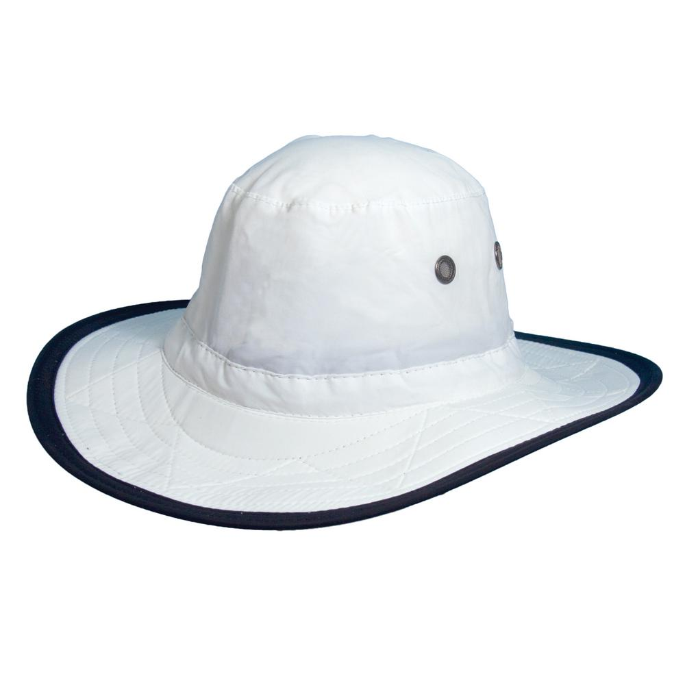 DPC Supplex Dim Brim Hat-MC288-WHT1 - The Home Depot 7546f77d86a