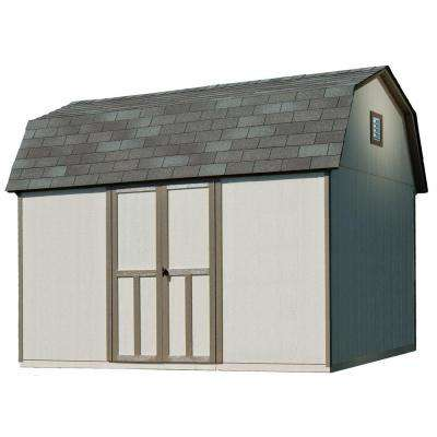 Briarwood 12 ft. x 8 ft. Wood Storage Shed