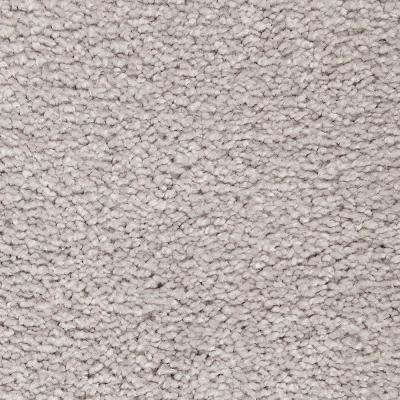 Carpet Sample - Castle I - Color Morning Shadow Textured 8 in. x 8 in.