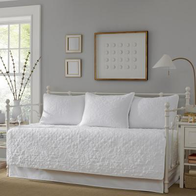 Burch 5-Piece White Twin Daybed Bedding Set