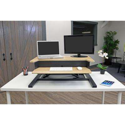 32-Pro Charcoal Standing Desk Converter