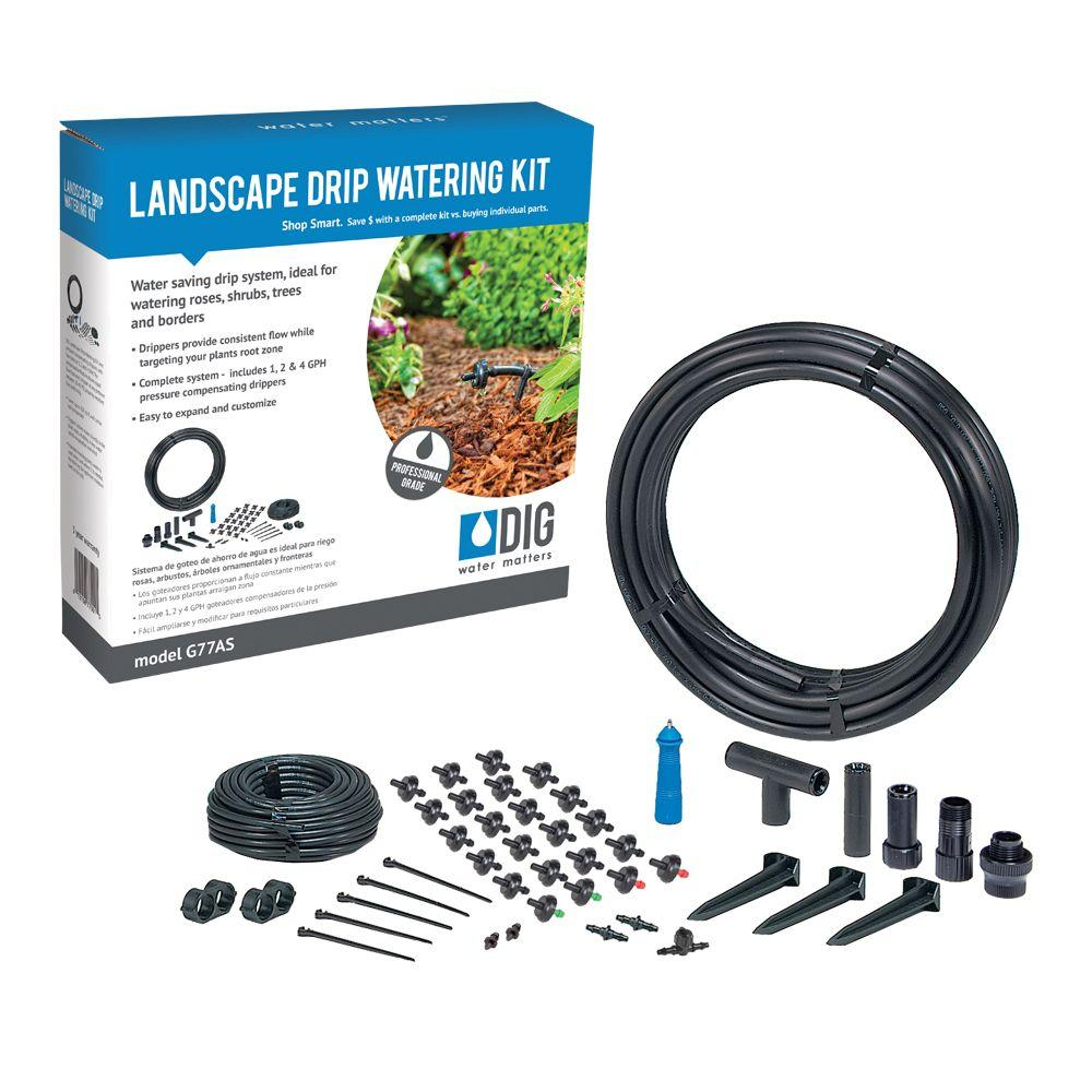 Home Depot Drip Irrigation Watering Kit