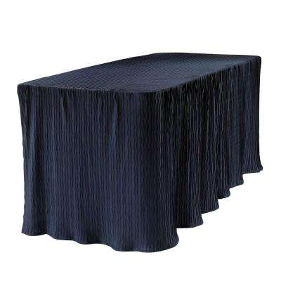 Nice Blue Table Cloth Made For Folding Tables