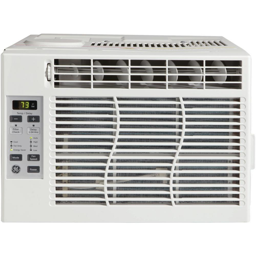 6,050 BTU 115-Volt Electronic Room Window Air Conditioner with Remote