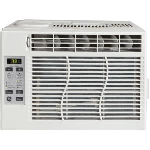 GE 6,000 BTU 115-Volt Electronic Room Window Air Conditioner with  on
