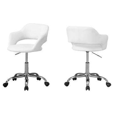 Jasmine 1-Piece White Office Chair