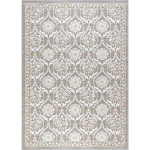 Majesty Taupe 4 ft. x 5 ft. Transitional Area Rug