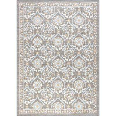 Majesty Taupe 8 ft. x 10 ft. Transitional Area Rug