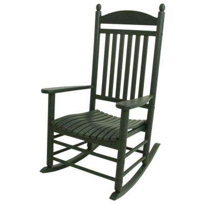 Jefferson Green Patio Rocker