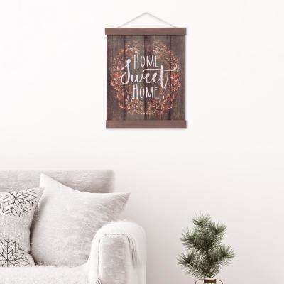Home Sweet Home Hanging Canvas Wall Art