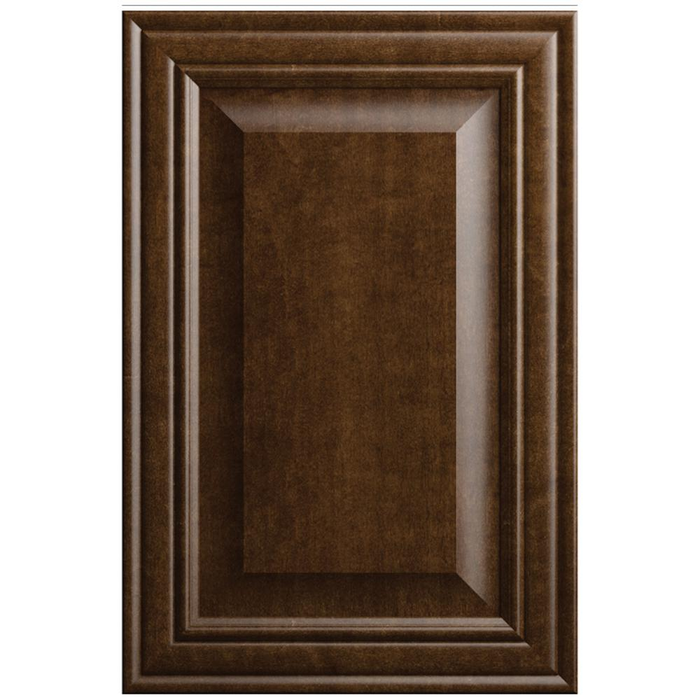 H&ton Bay Designer Series 11x15 in. Gilead Cabinet Door S&le in Spice  sc 1 st  Home Depot & Hampton Bay Designer Series 11x15 in. Gilead Cabinet Door Sample in ...
