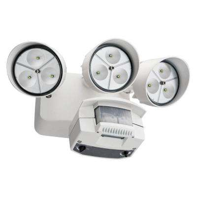 White Motion Sensor Outdoor Flood Light LED