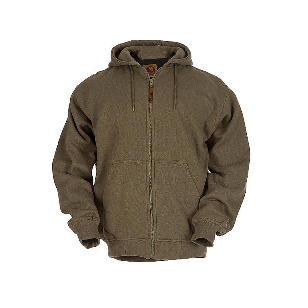 Men's Large Tall Alpine Green 100% Polyester Original Hooded Sweatshirt