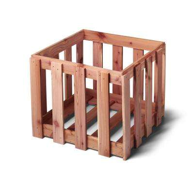 Aromatic Cedar Crate