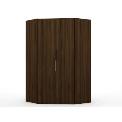 Ramsey 2.0 Brown Corner Wardrobe Closet