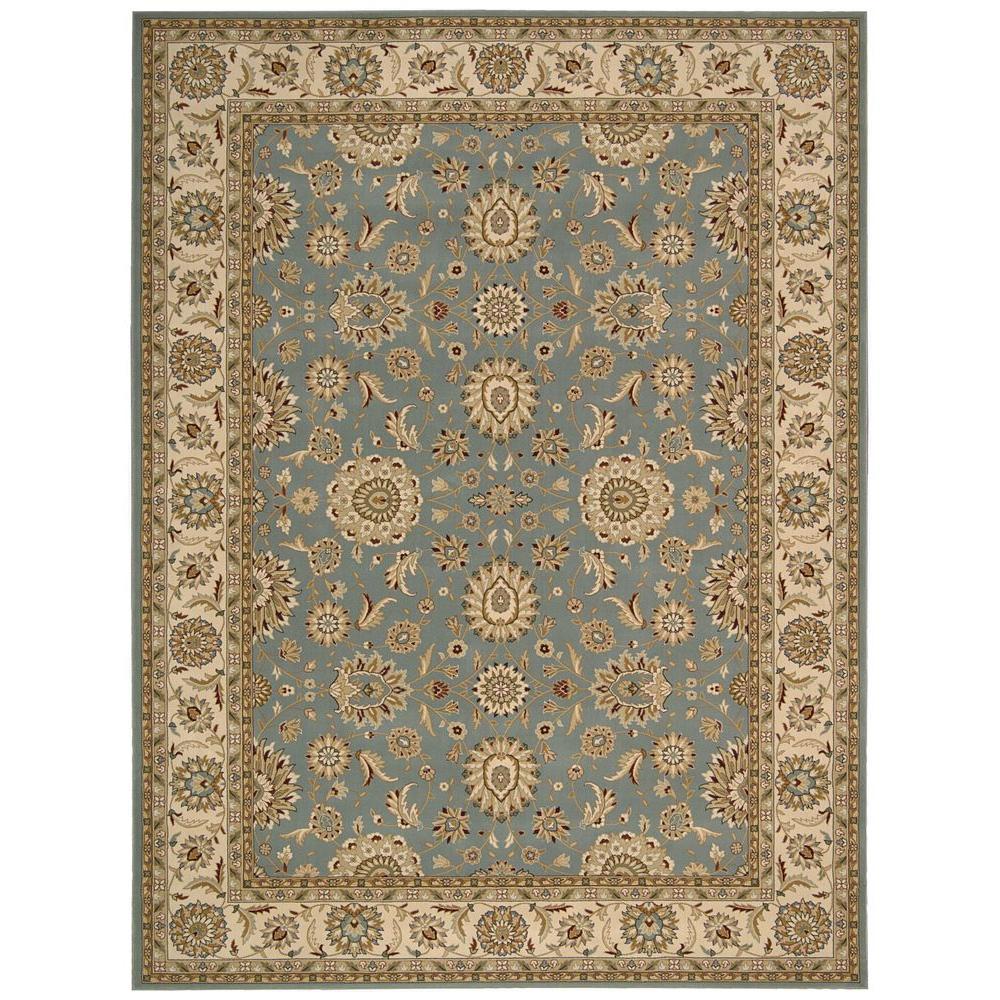 Nourison Persian Crown Suret Blue 7 ft. 10 in. x 10 ft. 6 in. Area Rug