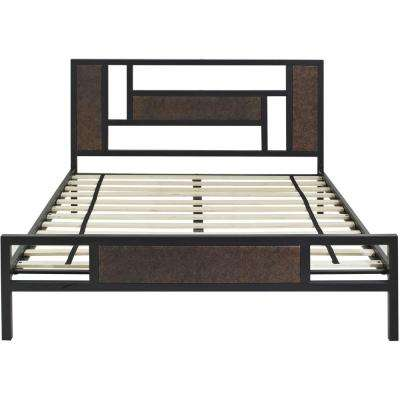 Hyde Park Metal Twin Platform Bed