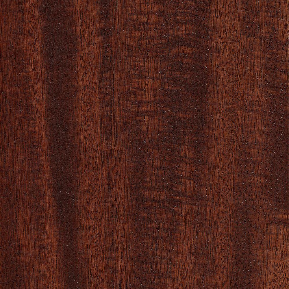 Matte Brazilian Oak 3/8 in. T x 5 in. W x Varying Length Click Lock Exotic Hardwood Flooring (26.25 sq. ft. / case)