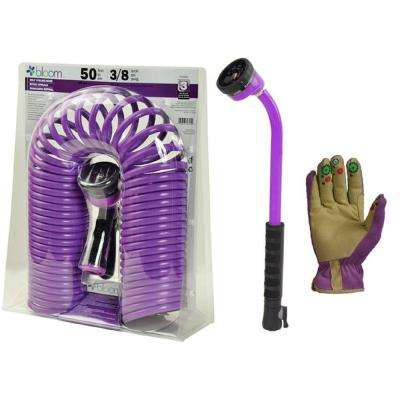 4-Piece Bloom Watering Kit in Purple
