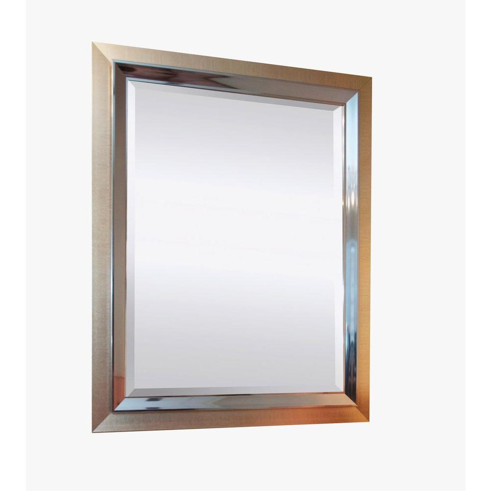 Simpli Home 49 in. x 39 in. Ashton Decorative Framed Mirror-DISCONTINUED