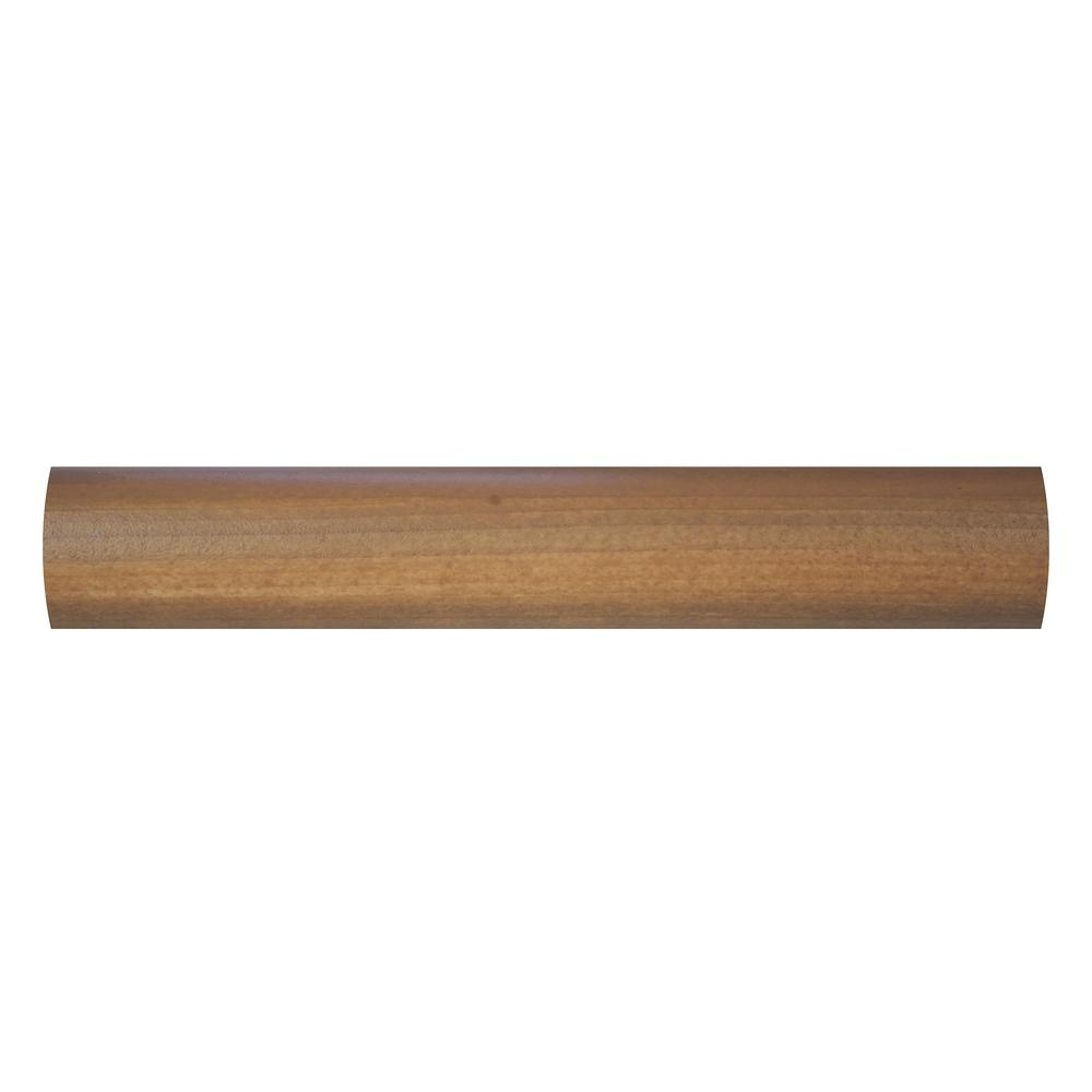 Everbilt 96 In Heavy Duty Wheat Wood Closet Rod 65367 The Home Depot