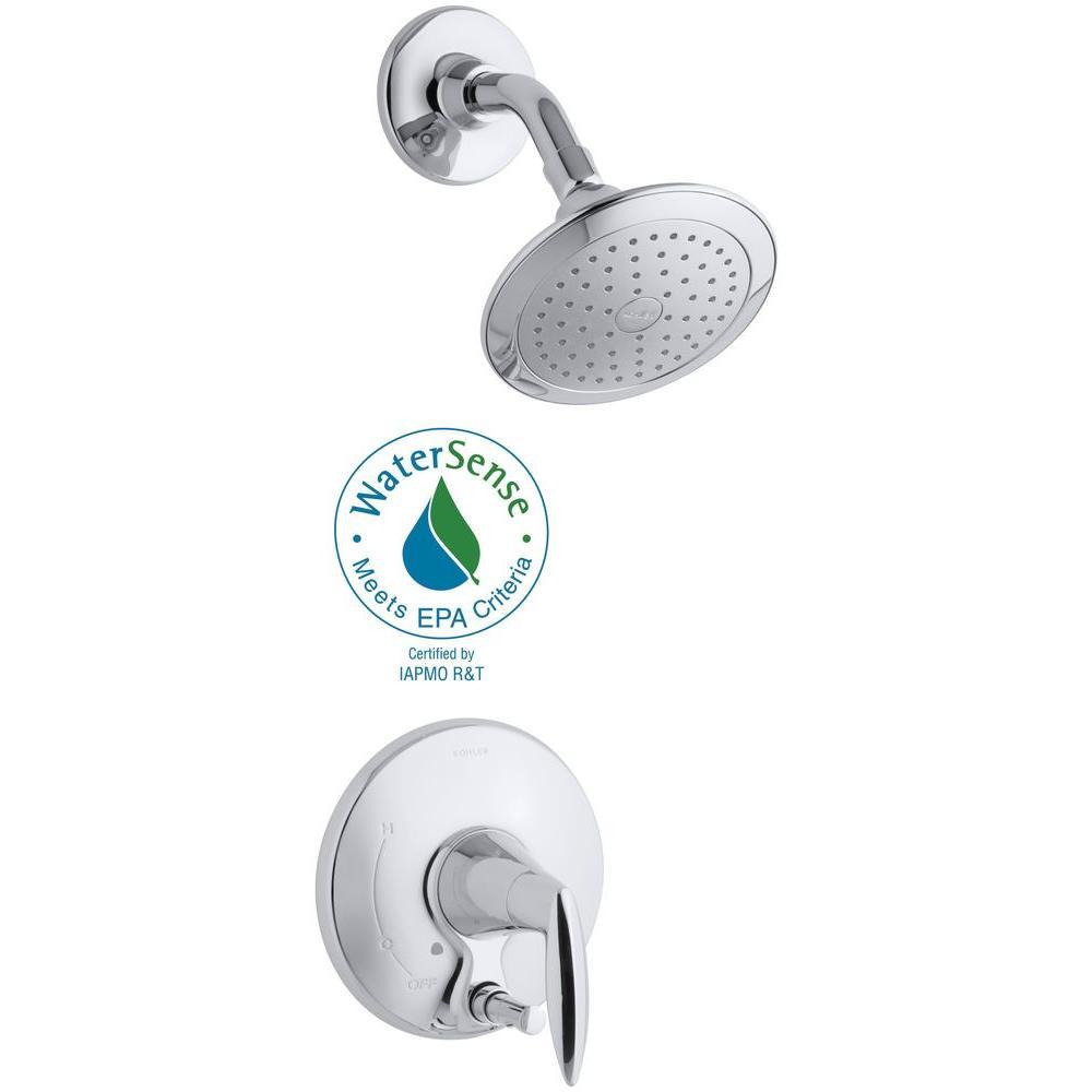 Kohler Alteo 1 Handle Shower Faucet Trim Kit With Push Button