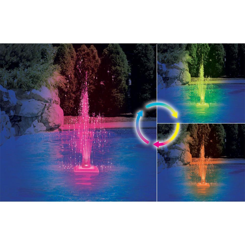 Swimline Kaleidoscope Color Changing LED Pool Fountain