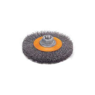 6 in. Crimped Wire Wheel Brushes 5/8 in. - 11 in. Arbor